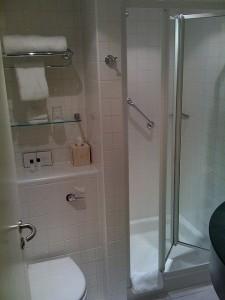 Egyedi félköríves zuhanykabin